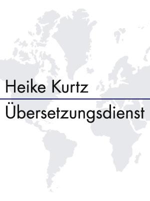 Heike Kurtz Übersetzungsdienst